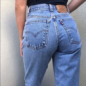 Vintage Levi's 550 mom jeans relaxed tapered